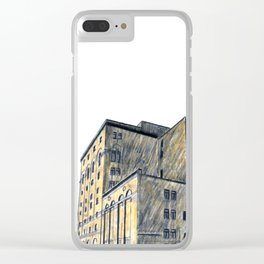 DOW BREWERY Clear iPhone Case
