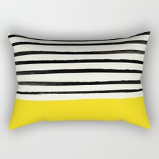 Sunshine x Stripes Rectangular Pillow