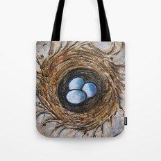 Family Nest Tote Bag