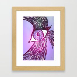 Eye Bird Framed Art Print