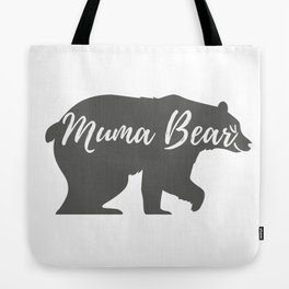 Muma Bear Tote Bag