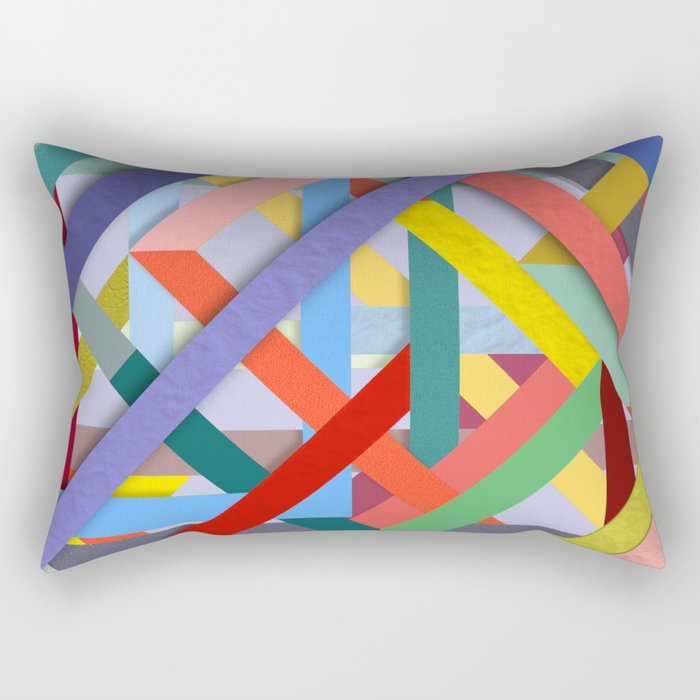 Abstract #288 Rectangular Pillow