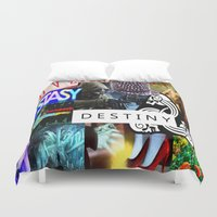 destiny Duvet Covers featuring Destiny by Aldo Couture