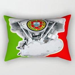 Portuguese Biker Rectangular Pillow