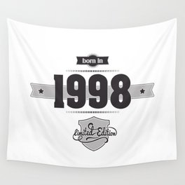 Born in 1998 Wall Tapestry