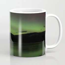 Aurora Borealis Over the Sea - Isle of Skye Coffee Mug