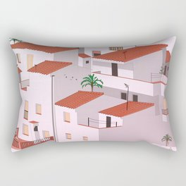 Sunset in my town Rectangular Pillow