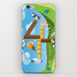 Fore of Clubs iPhone Skin