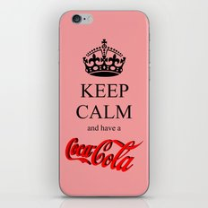 KEEP CALM Coca Cola iPhone & iPod Skin