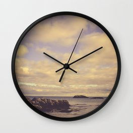 Her Dreams Stretched as Far as the Sea Was Wide Wall Clock