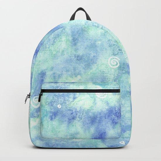Blue lagoon Backpack