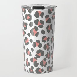 Pink Leopard Travel Mug