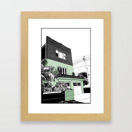 Coogee Framed Art Print