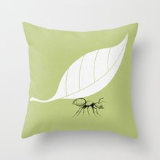 The Guide to Gentlemanly Pursuits Throw Pillow