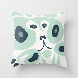 baboon shrug Throw Pillow