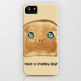 crumby iPhone Case