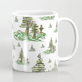 Trees on White Coffee Mug