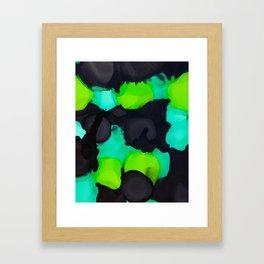 Green scene Framed Art Print