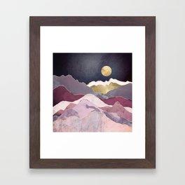Raspberry Dream Framed Art Print