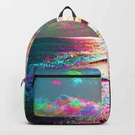 Trippy Serenity Ocean Backpack