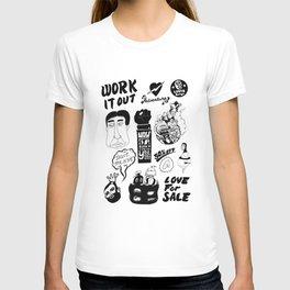 Doodles: The Montage T-shirt
