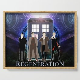 The Doctor Of Regeneration Serving Tray
