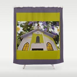 Glory Be Amenome Shower Curtain