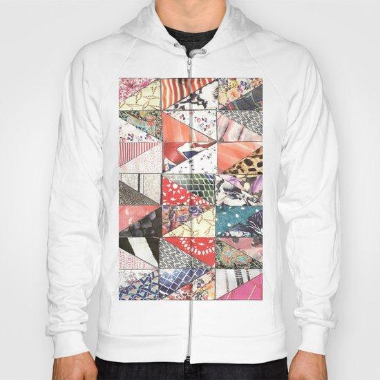 patchwork Hoody