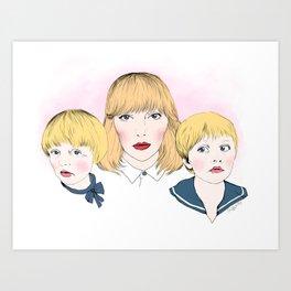 Mina bestyr Art Print