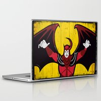 dungeons and dragons Laptop & iPad Skins featuring DUNGEONS & DRAGONS - AVENGER by Zorio