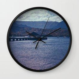 Hanalei Bay Wall Clock