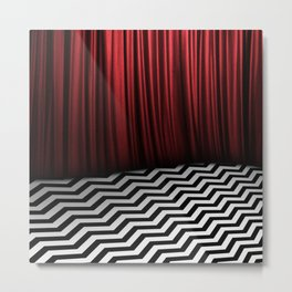 Red Room Metal Print