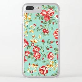 Le Petit Rose Clear iPhone Case