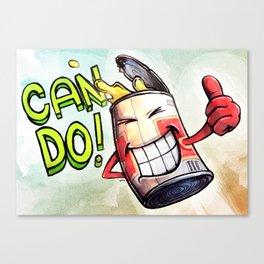 Can Do! Canvas Print