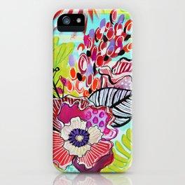 Boho Garden iPhone Case