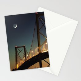 New Moon Bridge Stationery Cards