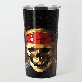 The Skull Smile Pirates Travel Mug