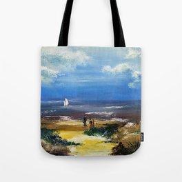 A marée basse Tote Bag