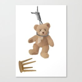Teddys Hanging around... Canvas Print