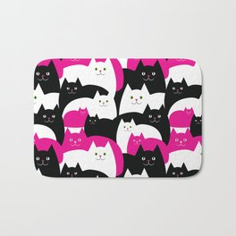 Fat Cats Bath Mat