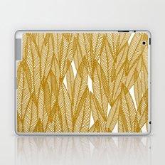 Golden Yellow Leaves Laptop & iPad Skin