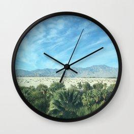 Palm Springs Mountains-California Desert Wall Clock