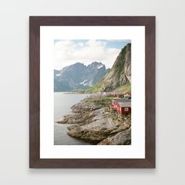 Norwegian Village Framed Art Print