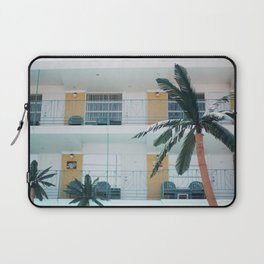 Retro Motel in Wildwood, New Jersey Laptop Sleeve