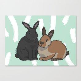 Phantom and Thumper Canvas Print