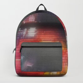 Original Graffiti Street Scene Backpack
