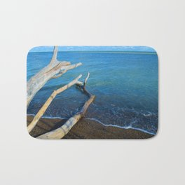 Lake Erie from Point Pelee National Park, Canada Bath Mat