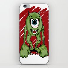 Mean Mike iPhone & iPod Skin