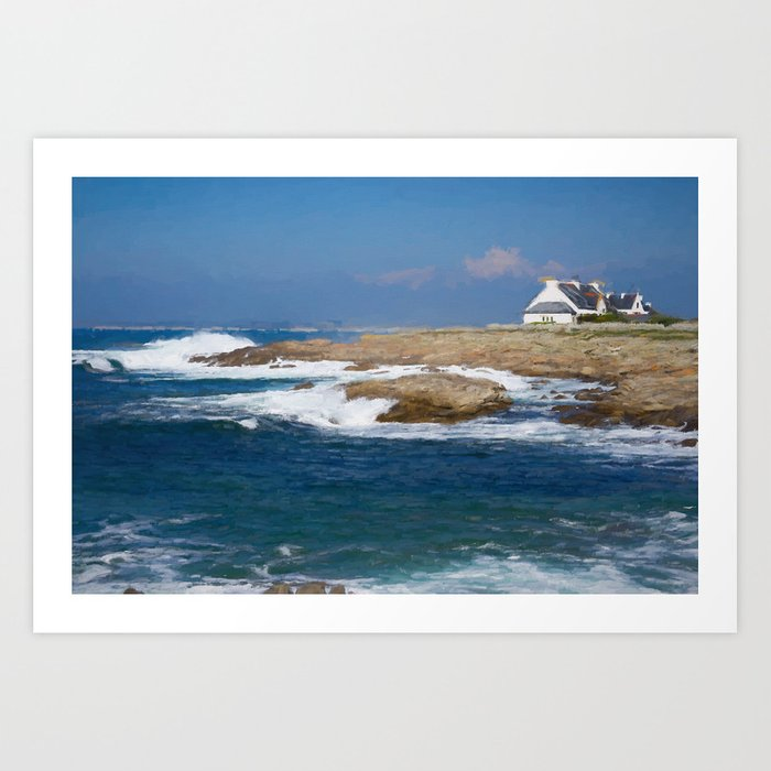 South Bretagne Art Print