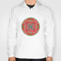 poppies Hoodies featuring Poppies by Imagology